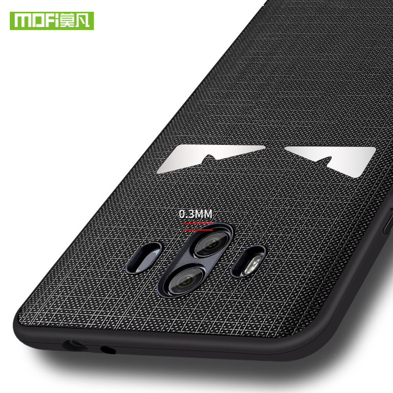 For Huawei mate 10 case cover mate10 pro cover leather silicone luxury back protect Shell MOFi original huawei mate 10 pro case