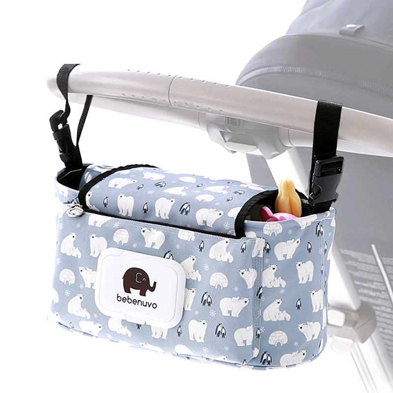 New Baby Stroller Organizer Mummy Maternity Diaper Bags Mom Travel Carriage Hanging Storage Bag Maternity Nursing Nappy Bag