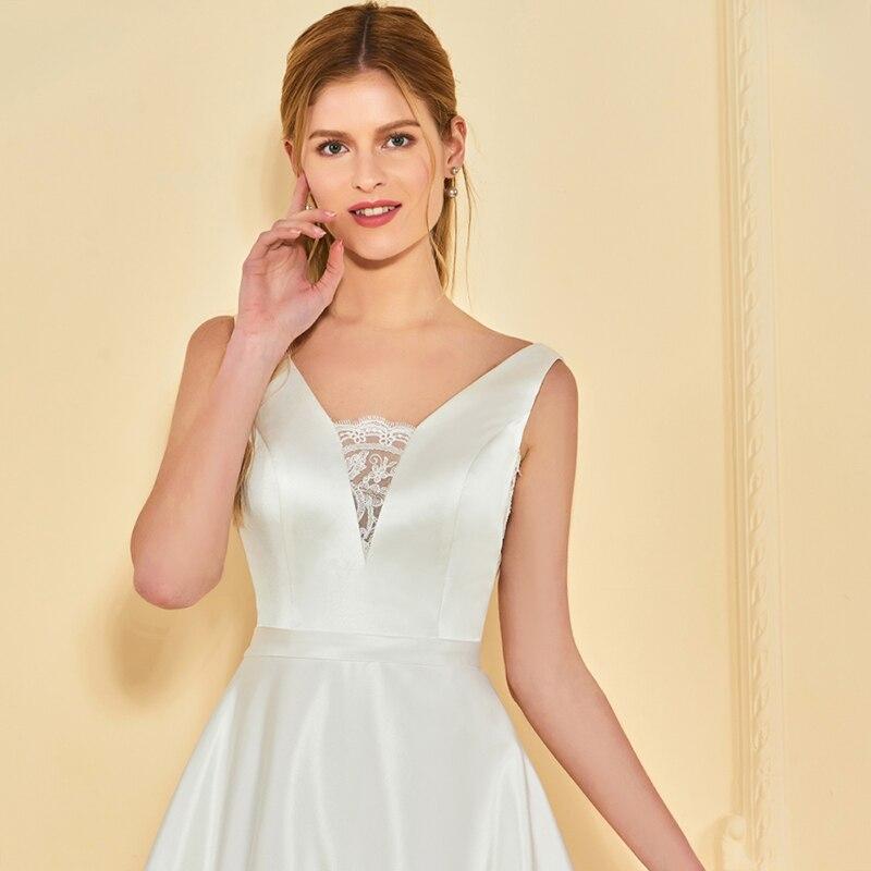 Imbracaminte rochie de mireasa rochie de mireasa Dressv V rochie de - Rochii de mireasa - Fotografie 4
