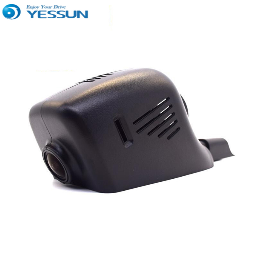 For VW Touareg 2011-2016 Car Dvr Mini Wifi Camera Driving Video Recorder Novatek 96658 Car Dash Cam Original Style Black Box liislee for volvo s60 2012 2013 car black box wifi dvr dash camera driving video recorder novatek 96655 fhd 1080p