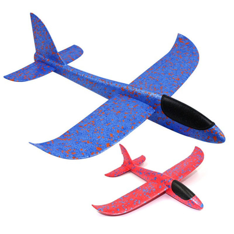 Hand Launch Plane Hand Throwing Glider Aircraft Foam Epp Airplane Toy Model Outdoor Fun Sports Toys For Kids