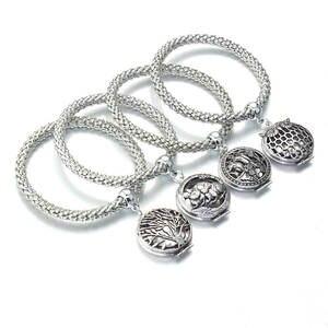 0363aaa33843 boom life Silver Charm Bracelets Chain Jewelry Women