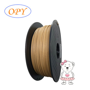 Filament Pla 1.75Mm 1Kg Wood 3D 1.75 Tronxy Accessories Polymaker 1 -F- 75 Mm Extruder Plastic Material image