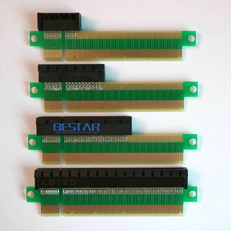 2018 Новый pci-e x16 штекерным x1 x4 x8 x16 женский Графика расширение подключения адаптера PCIe 3.0 Тесты карты для GTX1080 1060