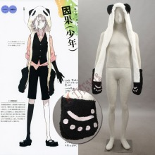Athemis Anime Winter Bomber Hat UN-GO Inga Brack Cosplay Cos