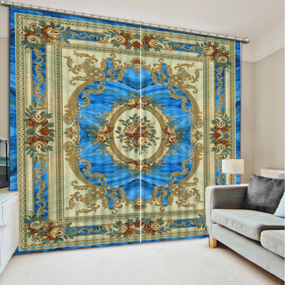 modern style 3d curtains print painting Living room bedroom decoration wedding Pattern customize window curtains      modern style 3d curtains print painting Living room bedroom decoration wedding Pattern customize window curtains