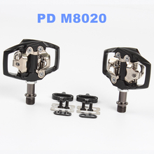 SPD Pedales Bicicleta MTB Mountain Bike Pedal Self-Lockings Clipless Pedals With Cleats Compatible For Shimano PD M8020 xlc mtb pedal steelcage pd m01 plastic body