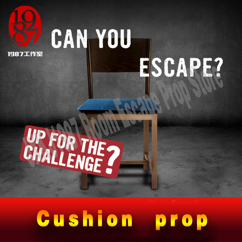 Escape Room Reality Game Cushion Props Sit Down To Open Lock Chair Prop From JXKJ1987 For Real Life Room Escape Adventurer Game