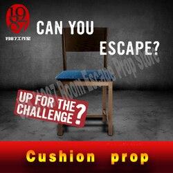 Habitación Escape juego de realidad cojín accesorios sentarse a bloqueo abierto silla prop de JXKJ1987 para la vida real escape aventurero juego