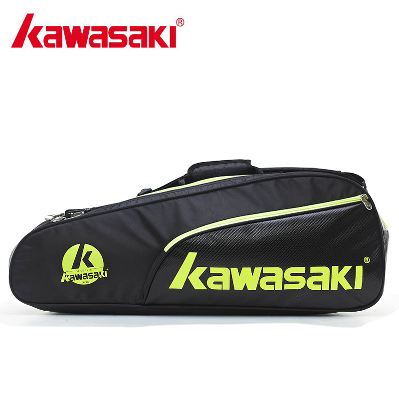 Genuine Kawasaki TCC-053 Backpack Badminton Bag Men And Women Sport Bag  (for 6