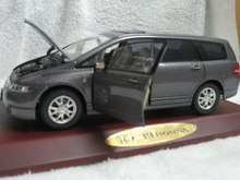 Classic 2019 1:18 Honda Odyssey  MPV Van Baby-Sitter Vehicle Diecast Model Car Valuable Brinquedos Rare Collection