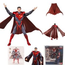 SHFiguarts DC Injustiça Liga Da Justiça Superman Super Man Action Figure Collectible Modelo Toy Presente(China)