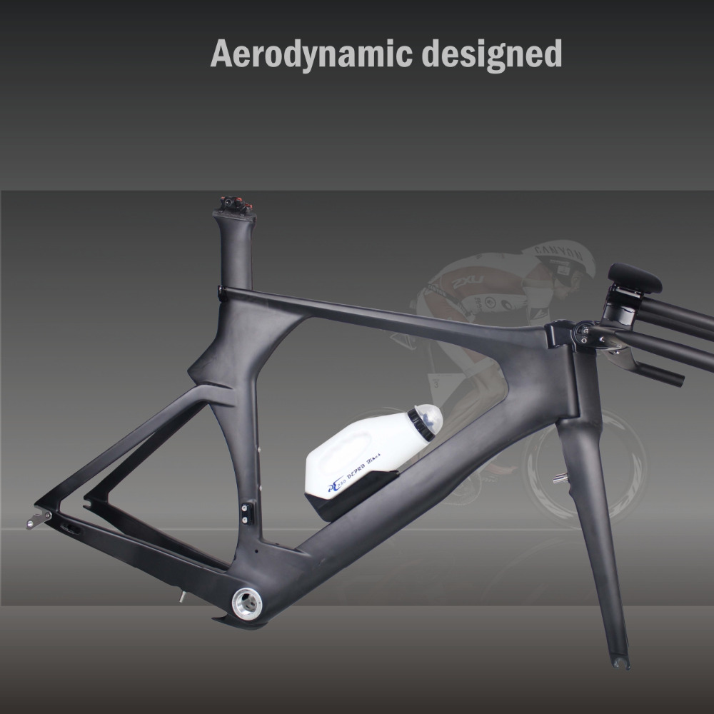 Aero Triathlon Water Bottle Cage And Holder Time Trial Bikes Drink