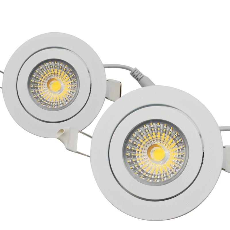 Best AC85-265V 10 Вт светодиодные светильники природа белый встраиваемые светодиодные лампы пятно света без затемнения Высокое качество бренда чи...