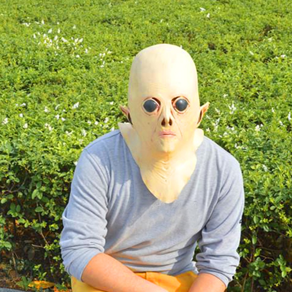 Aliexpress.com : Buy Realistic UFO Alien Head Mask Latex Creepy ...