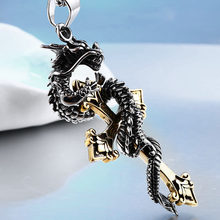 Beier Wholesale Stainless Steel Vintage Scorpions Pendant Necklace For Man And Woman Best Gift Charm BP8-248(China)