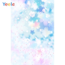 Yeele Illustration Art Painting Flowers Petal Photography Backgrounds Love Wedding Party Photographic Backdrops For Photo Studio