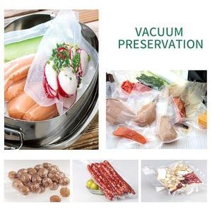 Image 2 - YTK 3 rolki 25cm * 500cm do kuchni do jedzenia worek próżniowy do przechowywania torby do uszczelniacz próżniowy żywności świeże długie utrzymanie