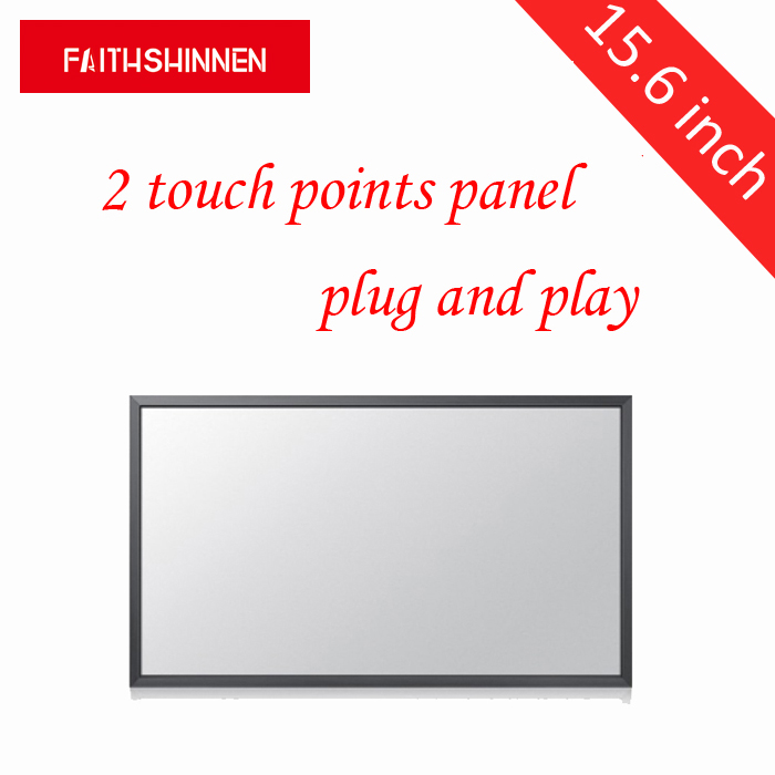 15.6 inch 2 touch points multi touch screen for computer/laptop touch screen overlay kit ...