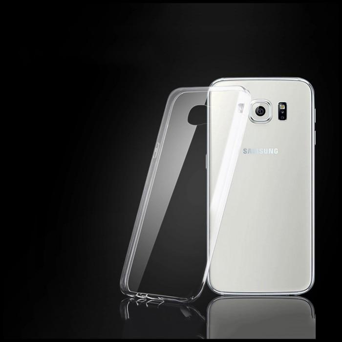 Para galaxy s6 edge claro caso accesorio del teléfono protectora de la carpeta b