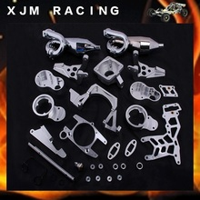 1/5 RC CAR Twin-Cylinder Engine Exhaust sets fit HPI BAJA 5B King Motor truck Free shipping