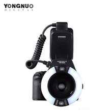 купить Yongnuo YN-14EX, YN14EX TTL Macro Ring Lite Flash Speedlite Light for Canon 5D Mark II 5D Mark III 6D 7D 60D 70D 700D 650D 600D дешево