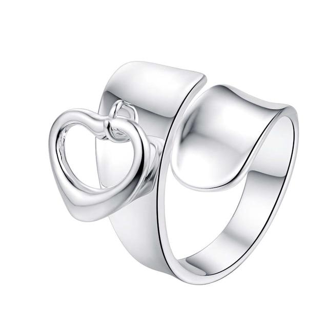 Amore cuore freddo regolabile per gli uomini All'ingrosso gioielli in argento 92