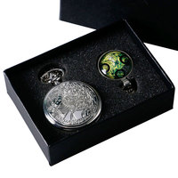 New Steampunk Uk Movie Dr Doctor Who Pocket Watch With Handmade Pendant Necklace 1 Set Pendant