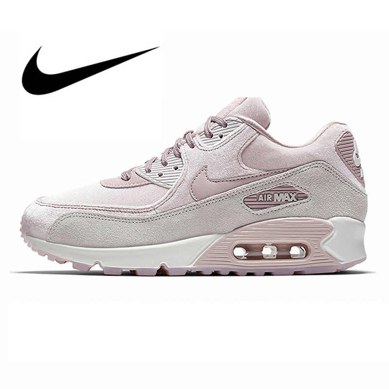 wholesale dealer 3f298 f1b4c NIKE AIR MAX 90 LX Women s Running Shoes Sport Outdoor Sneakers Top Quality  Athletic Designer Footwear