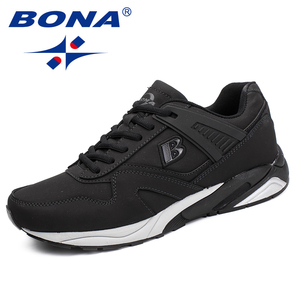 Image 2 - BONA New Calssice Style Men Running Shoes Lace Up Men Athletic Shoes Outdoor Jogging Sneakers Shoes Comfortable Free Shipping