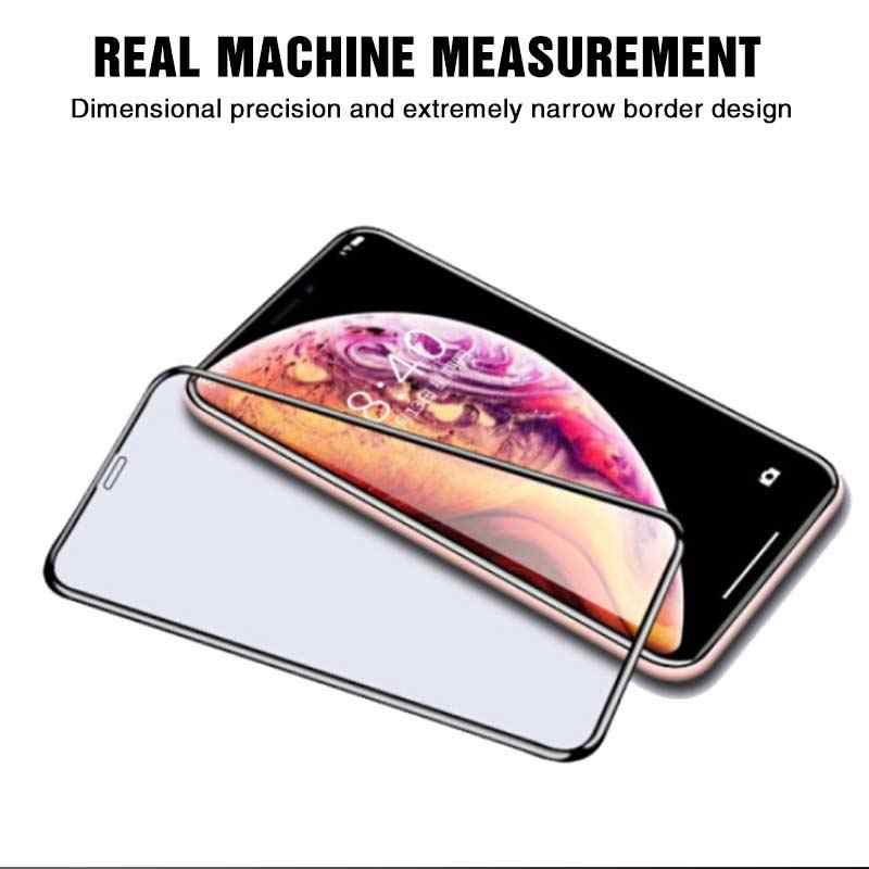 Nowe szkło ochronne 5D na iPhone 6 6s 7 8 Plus szkło na iPhone X XS XR XS MAX folie ochronne na całą obudowę