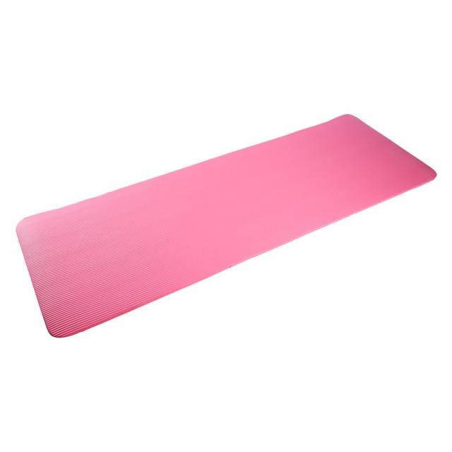 15mm Pink Non-slip Yoga Mat NBR Thicken Soft Yoga Pad Gym Fitness Mat Big Size 183x61x1.5cm Fitness Equipment