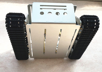 Rc Tank Kit | JMT DIY RC Intelligente Roboter Auto Aluminium Legierung Smart Tank Chassis Wand-e Raupe Traktor Crawler