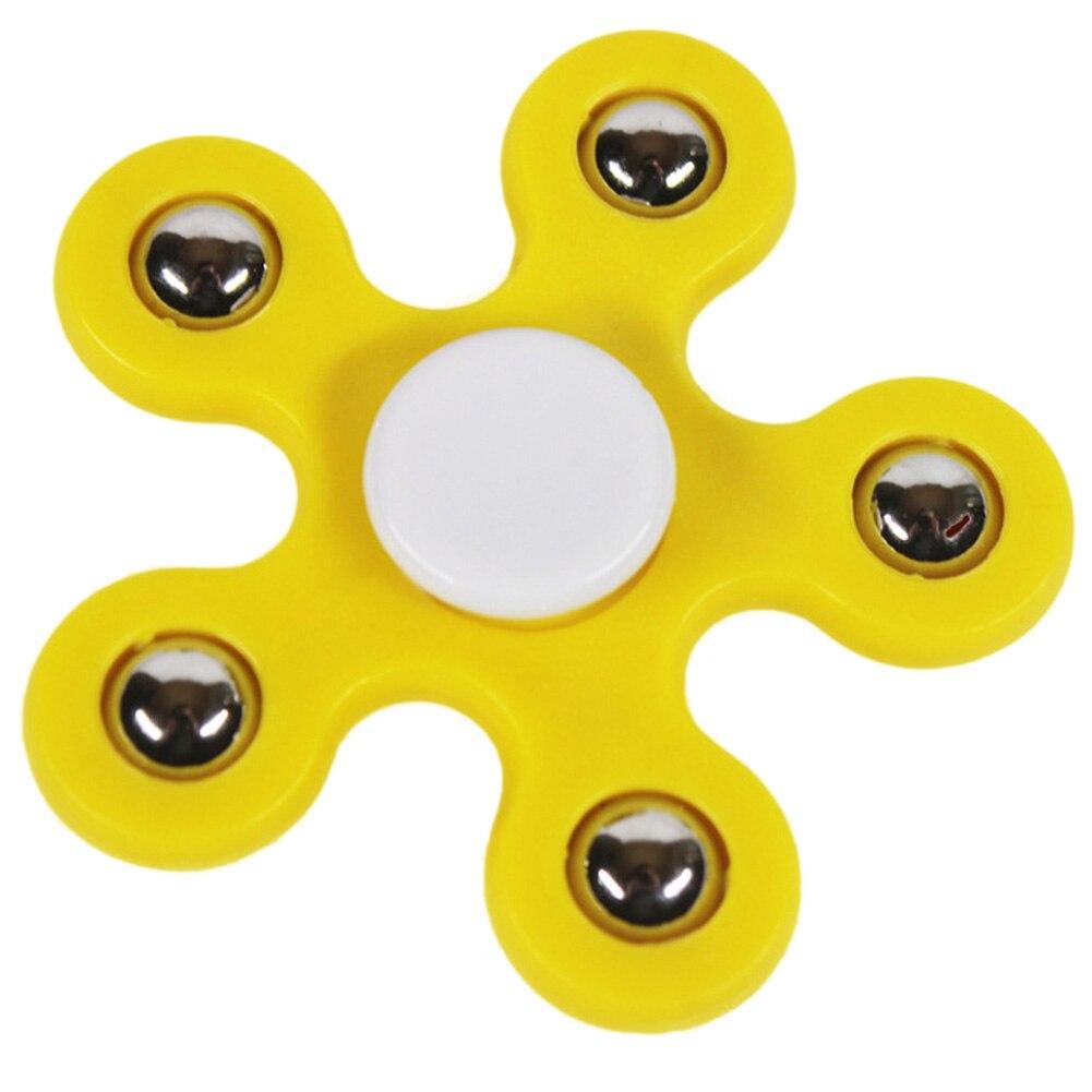 Flower Hand Spinner Stress Relieve Fidget Finger Gyro ADHD ADD EDC Desk Toy Gift