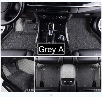 Car  car floor mats for Skoda Superb Yeti Fabia Rapid spaceback 5D heavy duty car styling carpet floor liner