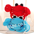 Crab Hold Pillow Plush Portunid Cushion Stuffed Animal Soft Toy Home Dcor Gift