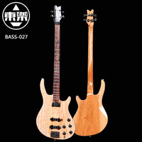 Wooden Handcrafted Miniature Guitar Model Bass 027 Bass Guitar Display With Case And Stand Not Actual