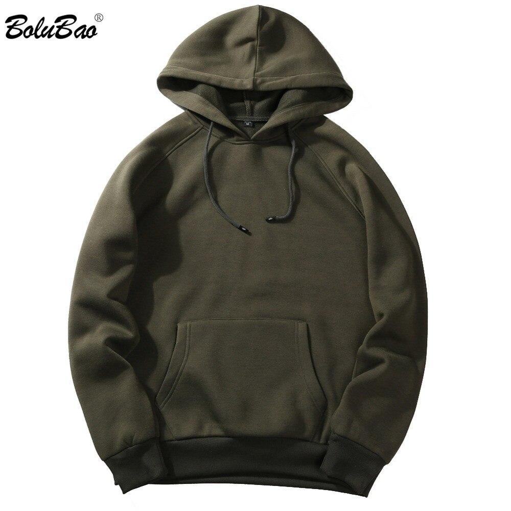 New Autumn Men Hoodies Sweatshirt Fashion Classic Streetwear Solid Color Hip Hop Male Br ...