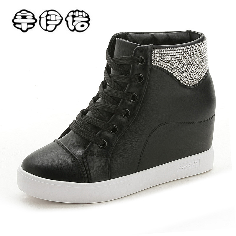 Designer Women Sneakers Wedges Female Summer Flats Casual Creepers Platform Leather Shoes Woman Zapatos Mujer Black White phyanic summer gladiator sandals 2017 bling glitter platform shoes woman casual beach creepers women flats shoes phy4042