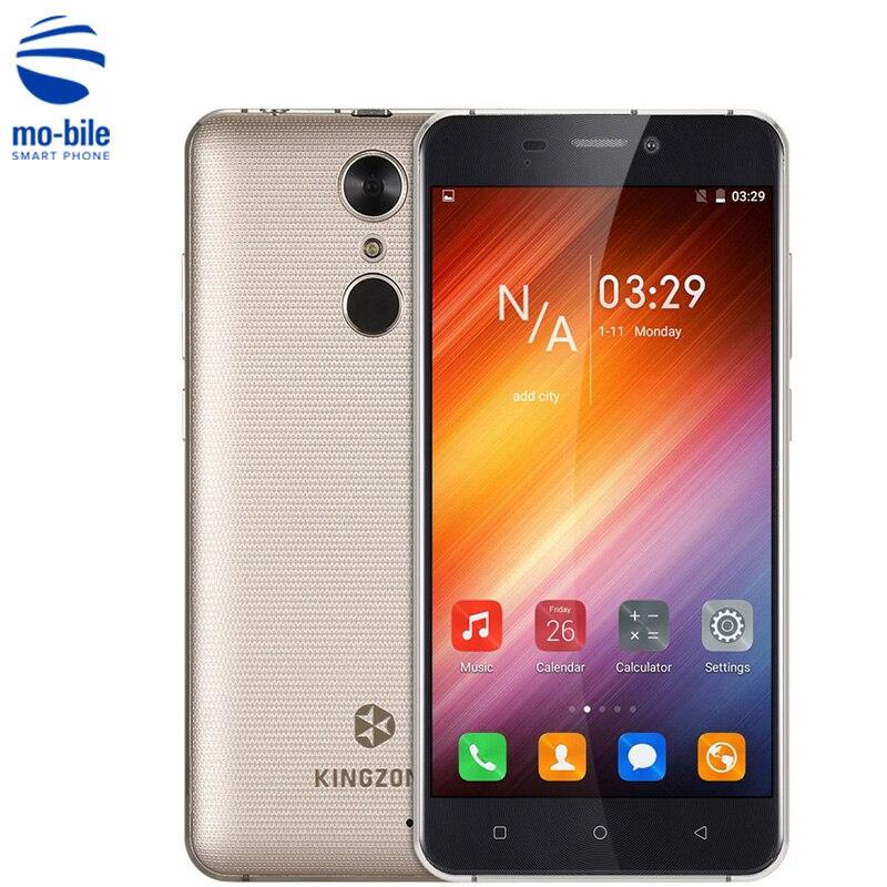 Цена за Оригинал KINGZONE S3 Смартфон 5.0 ''Противоударный Android 6.0 MTK6580 Quad Core 1 ГБ RAM 16 ГБ ROM Отпечатков Пальцев ID мобильный Телефон