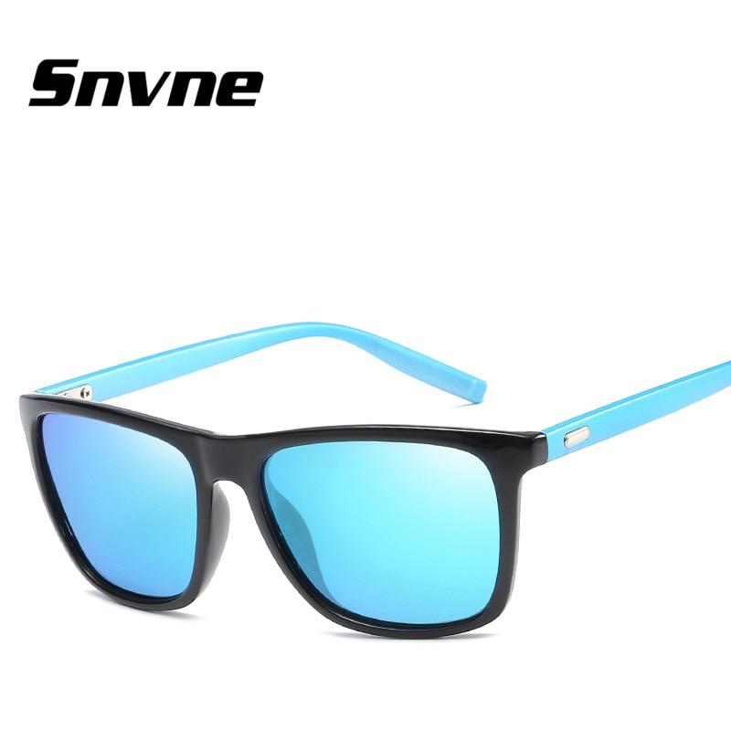 5e167a163e4 Snvne Sun glasses The new men s square bright color polarized light  sunglasses for men women Brand design hombre masculino KK533