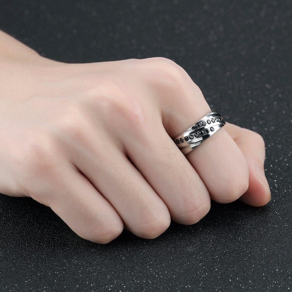 Aliexpress.com : Buy New Design Punk AAA Black Crystal Geometric ...