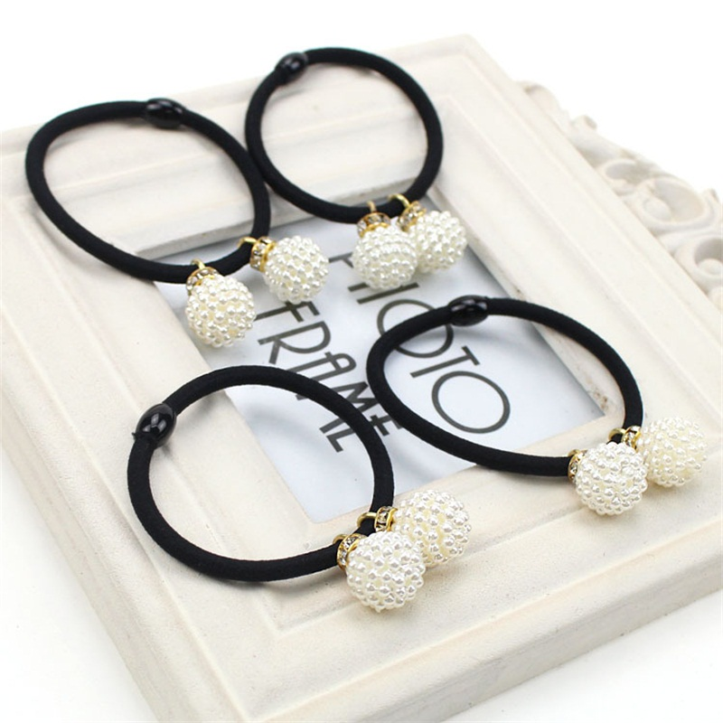 1PCS Shamballa ball Hair Accesss