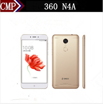 "Original 360 N4A 4G LTE Mobile Phone Octa Core Android 6.0 5.5"" FHD 3GB RAM 32GB ROM 13.0MP Fingerprint 4020mAh Metal Case"