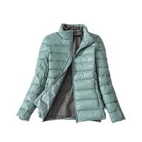 90 White Duck Down Jacket 2018 Women Spring 13 Color New Jacket Zipper Ultra Light Fashion