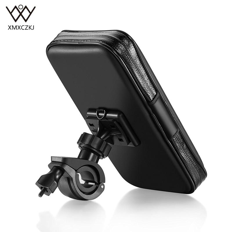 Vattentät cykelmonteringshållare med pekskärm Vattentät väska - Reservdelar och tillbehör för mobiltelefoner - Foto 2