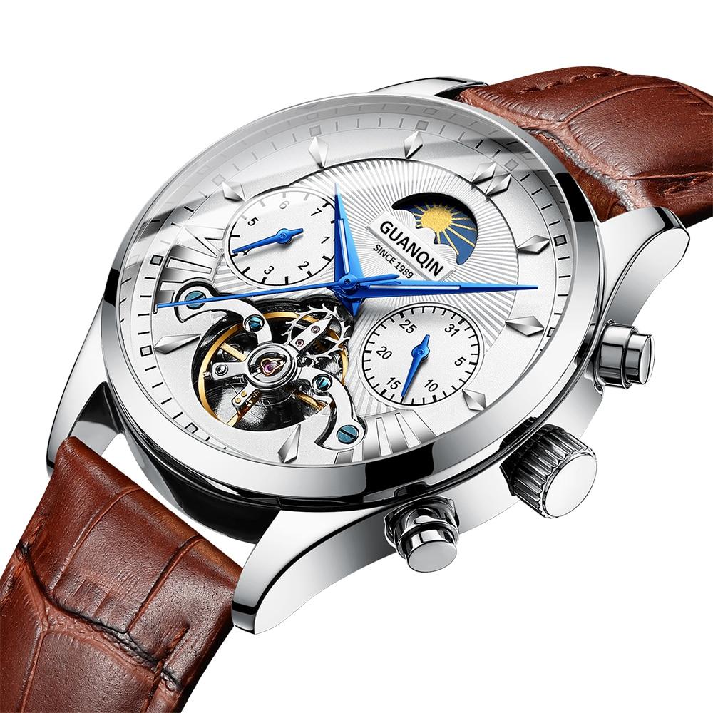 HTB1h1geRbPpK1RjSZFFq6y5PpXaB GUANQIN 2019 clock men's/mens watches top brand luxury automatic/mechanical/luxury watch men gold tourbillon mens reloj hombre
