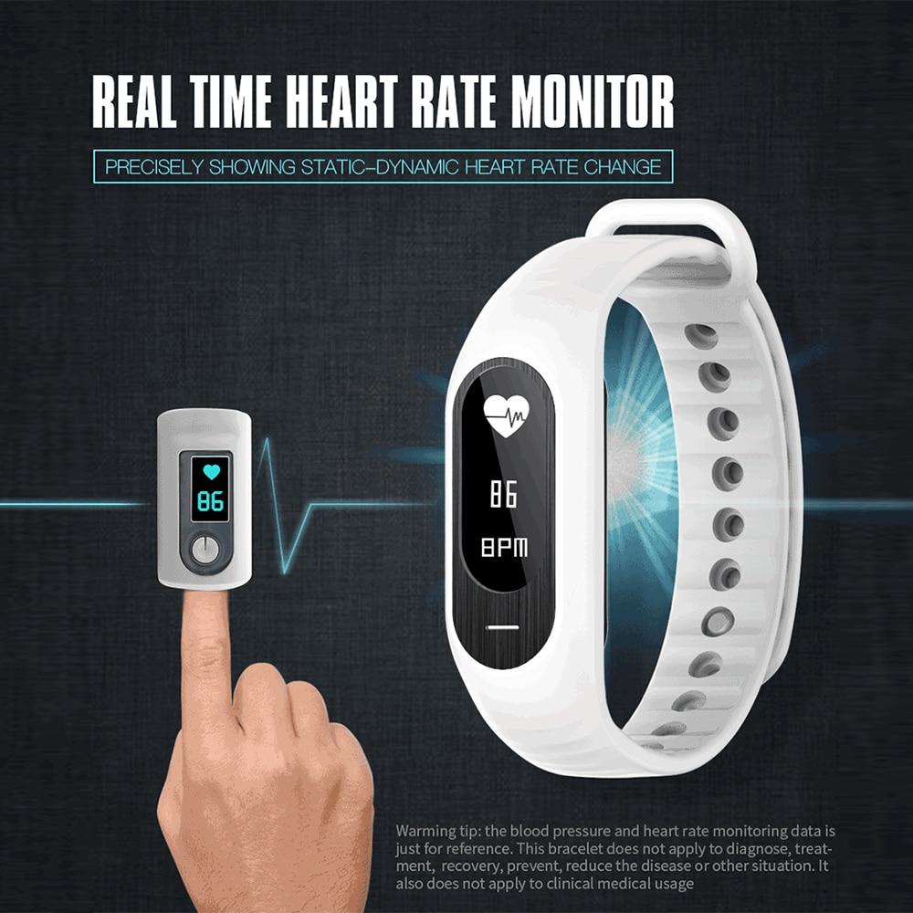 B15P Sport Smart Watch Men Smart Band Wristband Bluetooth 4 0 Blood Pressure Tracker Heart Rate