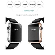 """Smart Uhr Bluetooth Uhr 1,48 """"TFT LCD Display Unterstützung NFC Micro Sim-karte Armbanduhr Smartwatch für Android-Handy und iPhone"""