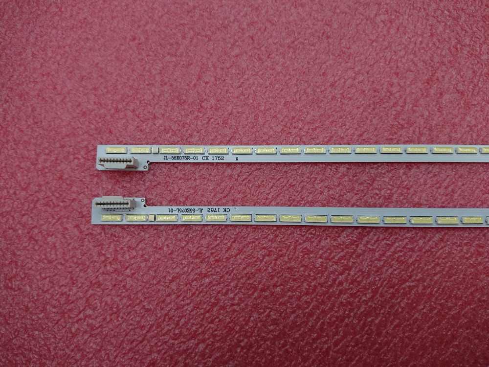 New 2 PCS*75LED 605mm LED backlight stip perfect Replacement for 55Inch 55LA6800 55LA6600 6922L-0069A LC550EUH PF P1 6920L-0001C